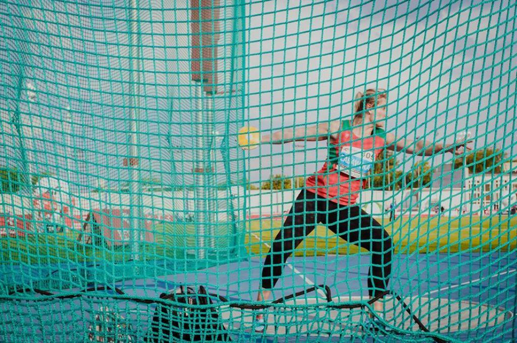 Daria Zabawska zdobyła złoty medal w konkursie rzutu dyskiem