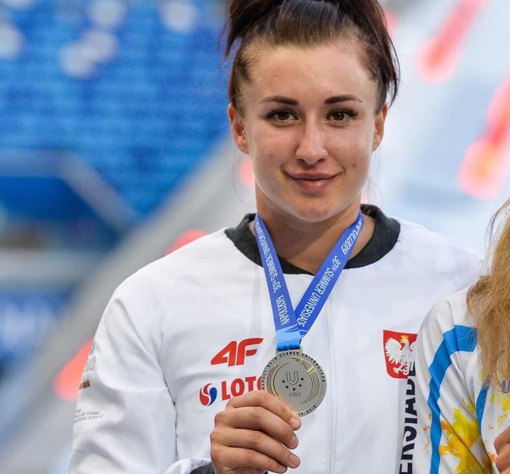 Złoty medal Malwiny Kopron podczas Uniwersjady w Neapolu 2019