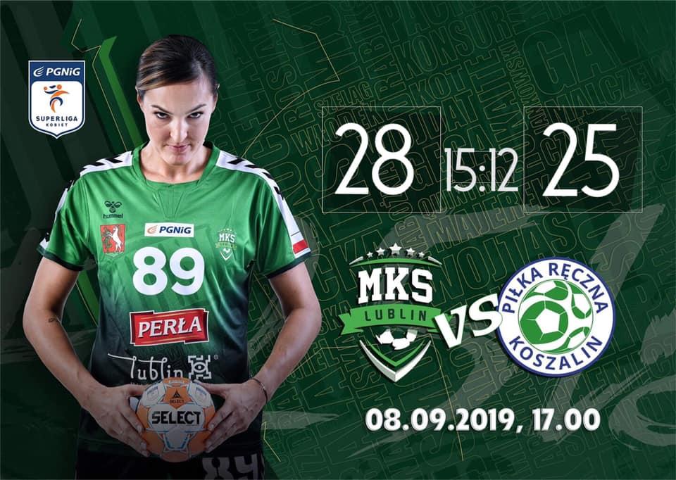 Wygrana MKS-u Perła Lublin na inaugurację sezonu