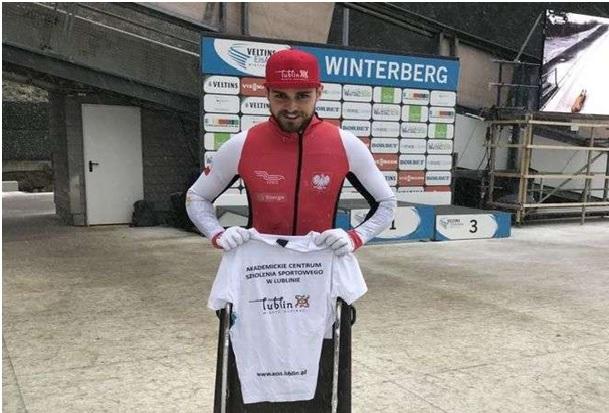 Odległe miejsce bobsleisty AZS UMCS Lublin w Sankt Moritz