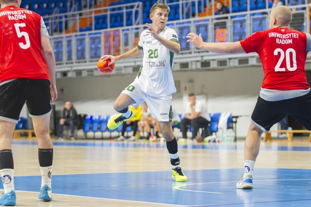 Piłkarze ręczni AZS UMCS Lublin rozpoczęli sezon od porażki