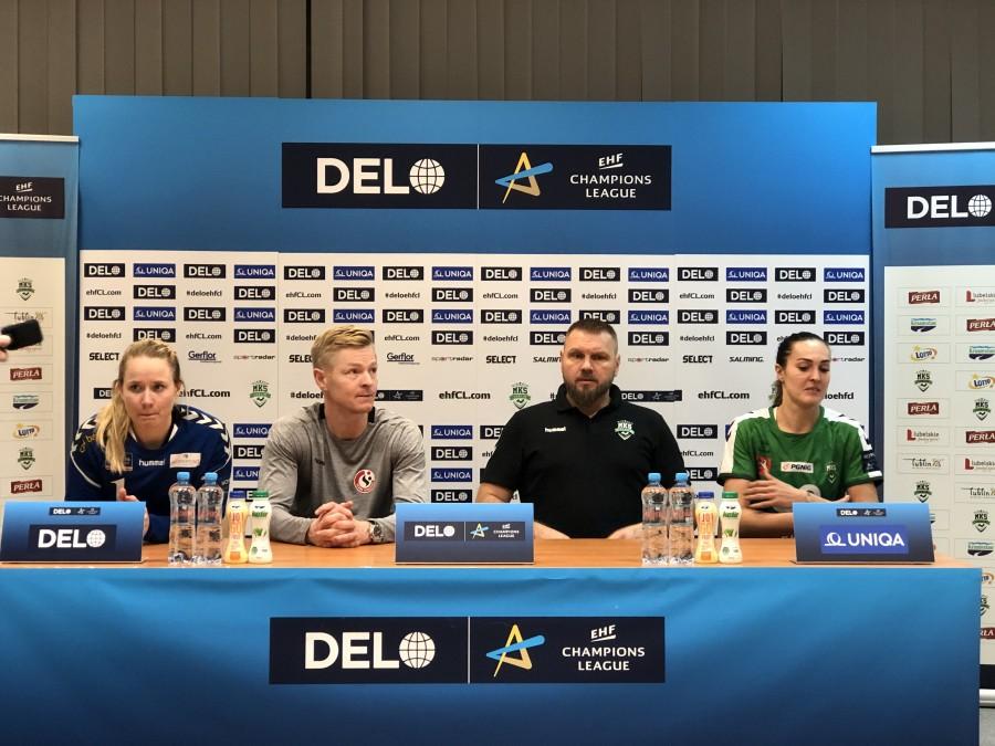 Liga Mistrzyń w piłce ręcznej: MKS Perła Lublin – Team Esbjerg