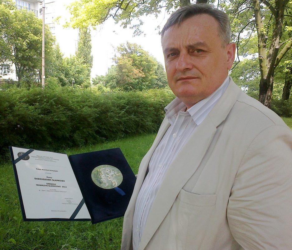 """""""Sport co Gryfa wart"""". Wywiad z Prof. Dariuszem Słapkiem"""