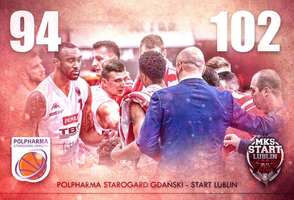 Start Lublin przełamują złą passę, wygrywając z Starogardem Gdańskim