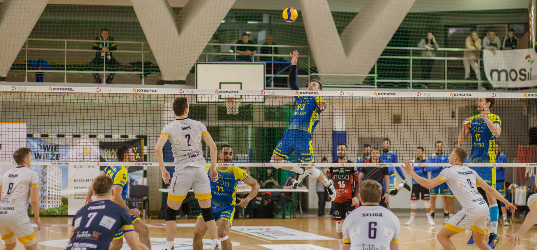 LUK Politechnika Lublin pokonała 3:2 niepokonaną do tej pory Stal Nysę.