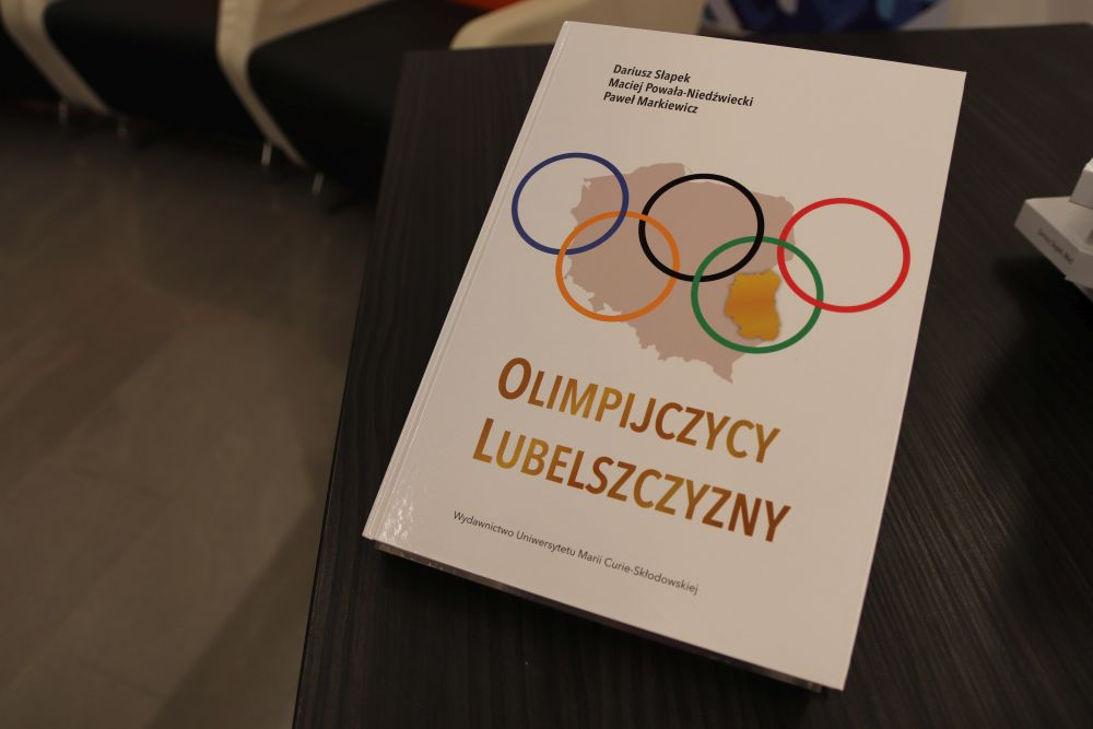 """Premiera książki """"Olimpijczycy Lubelszczyzny"""""""