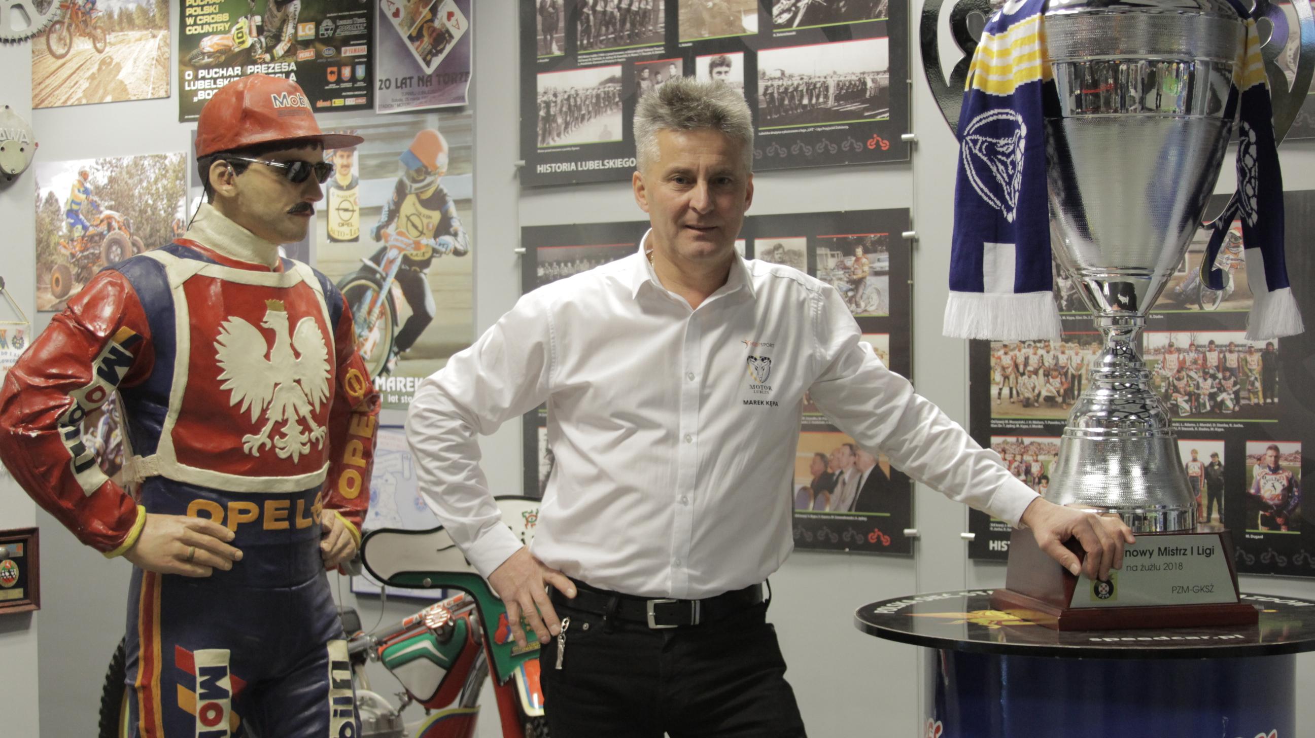 Z Kroniki Lubelskiego Sportu #1: Wywiad z Markiem Kępą