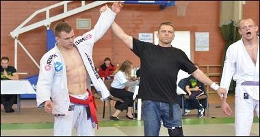 Marek Wrzaszcz z mistrzostwem Europy w Jiu-Jitsu