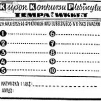 Nominowani w Plebiscycie na sportowca roku w Lubelszczyzny w 1968 r.