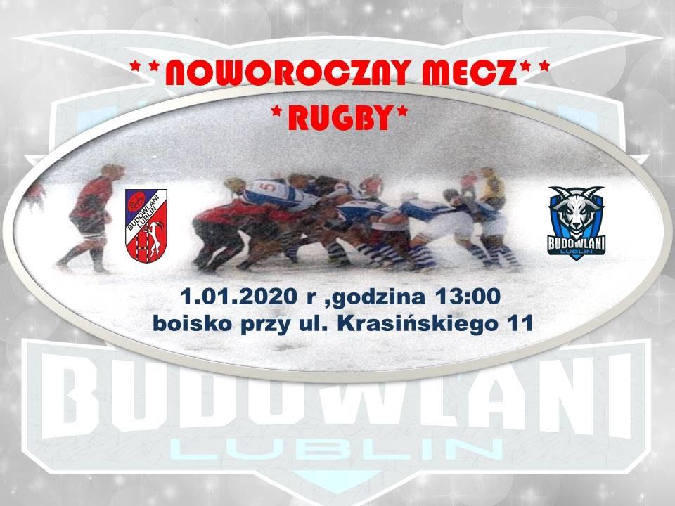 Noworoczny Mecz Rugby z KS Budowlani Lublin