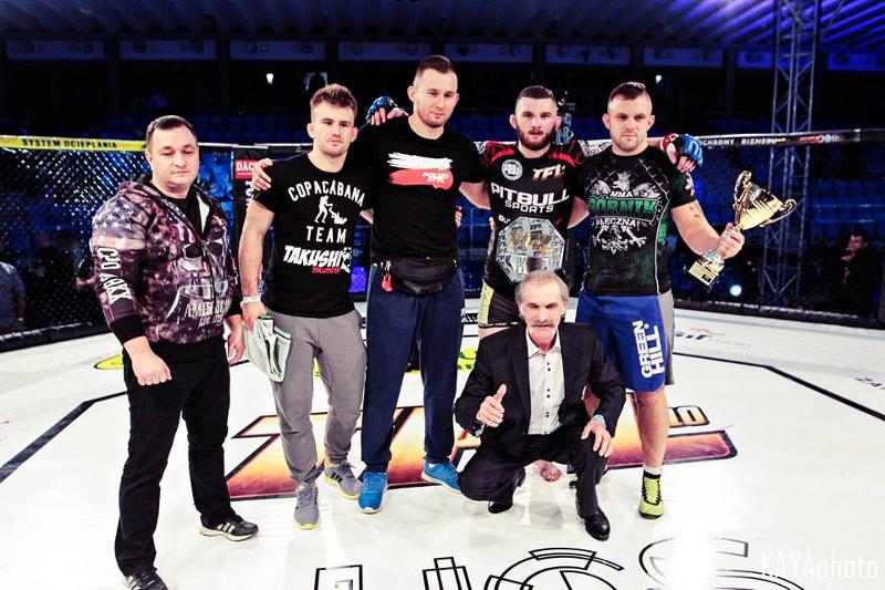 Thunderstrike Fight League: Oleksiejczuk wygrywa w walce wieczoru