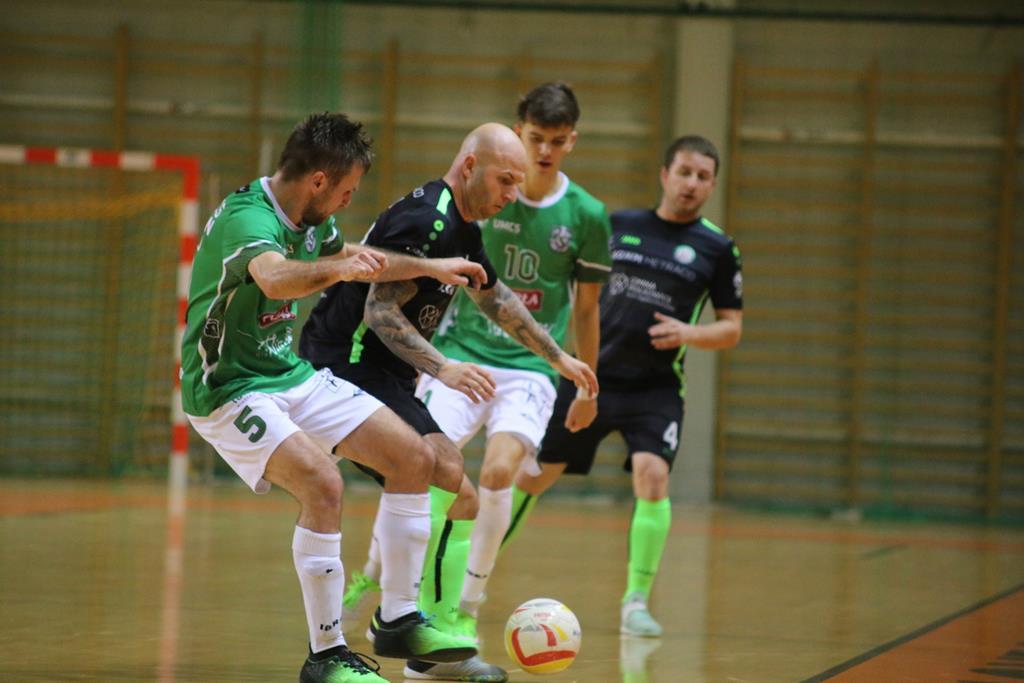 Piłkarze halowi AZS UMCS Lublin z czwartym zwycięstwem z rzędu