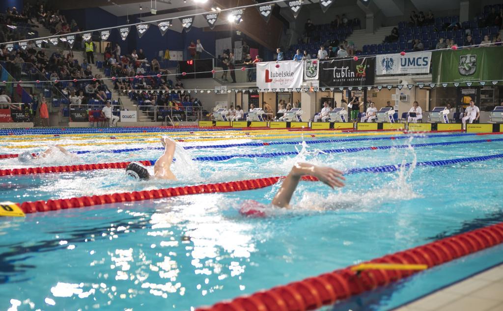 II dzień zmagań podczas Zimowych Mistrzostw Polski Juniorów 16 lat w pływaniu