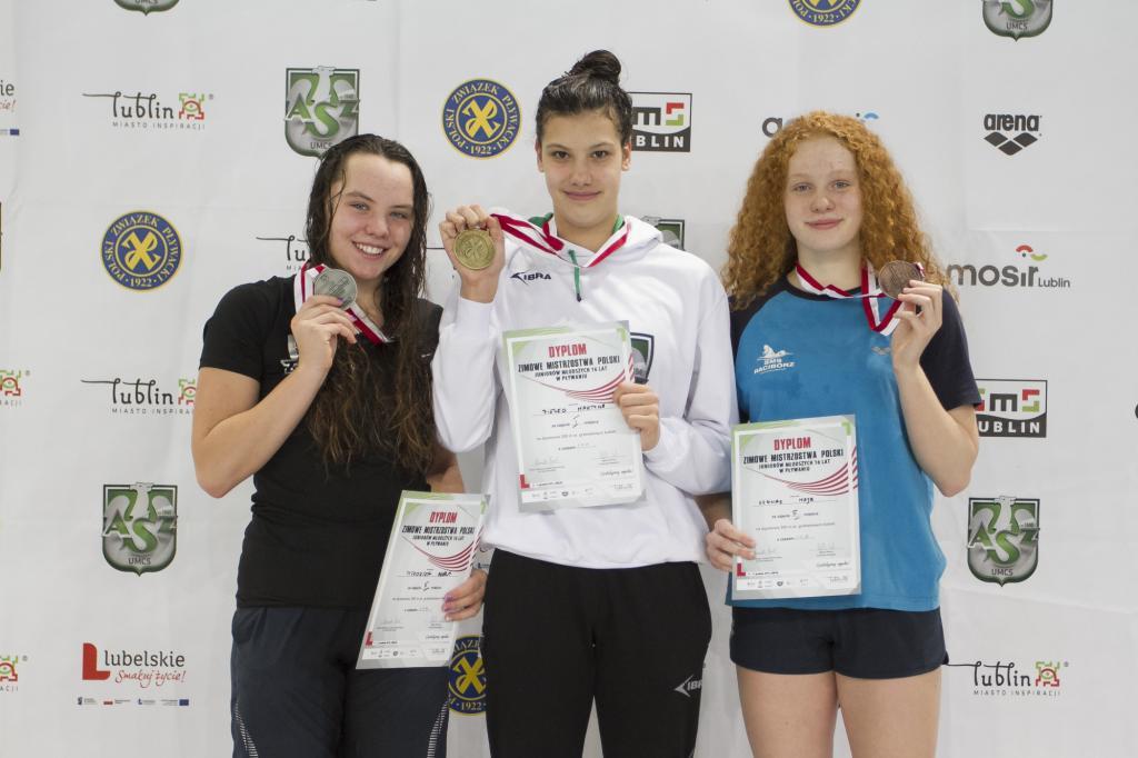 I dzień zmagań podczas Zimowych Mistrzostw Polski Juniorów 16 lat w pływaniu