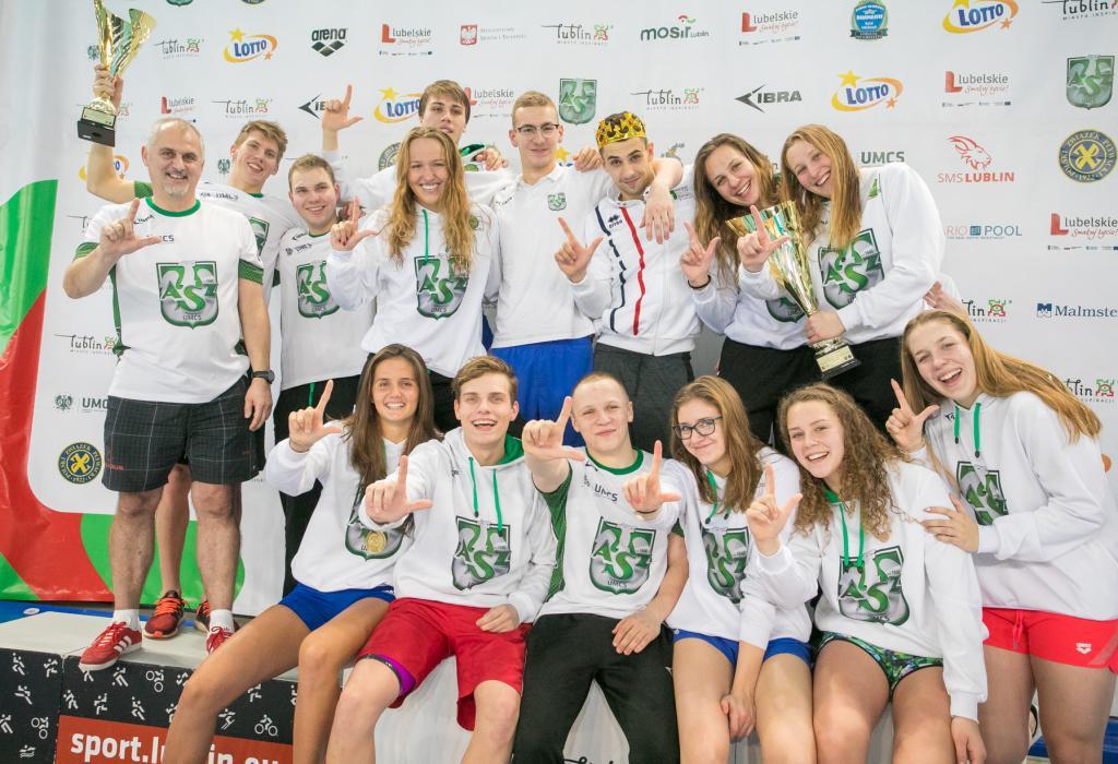KU AZS UMCS Lublin obronili tytuł Zimowych Mistrzostów Polski w Pływaniu