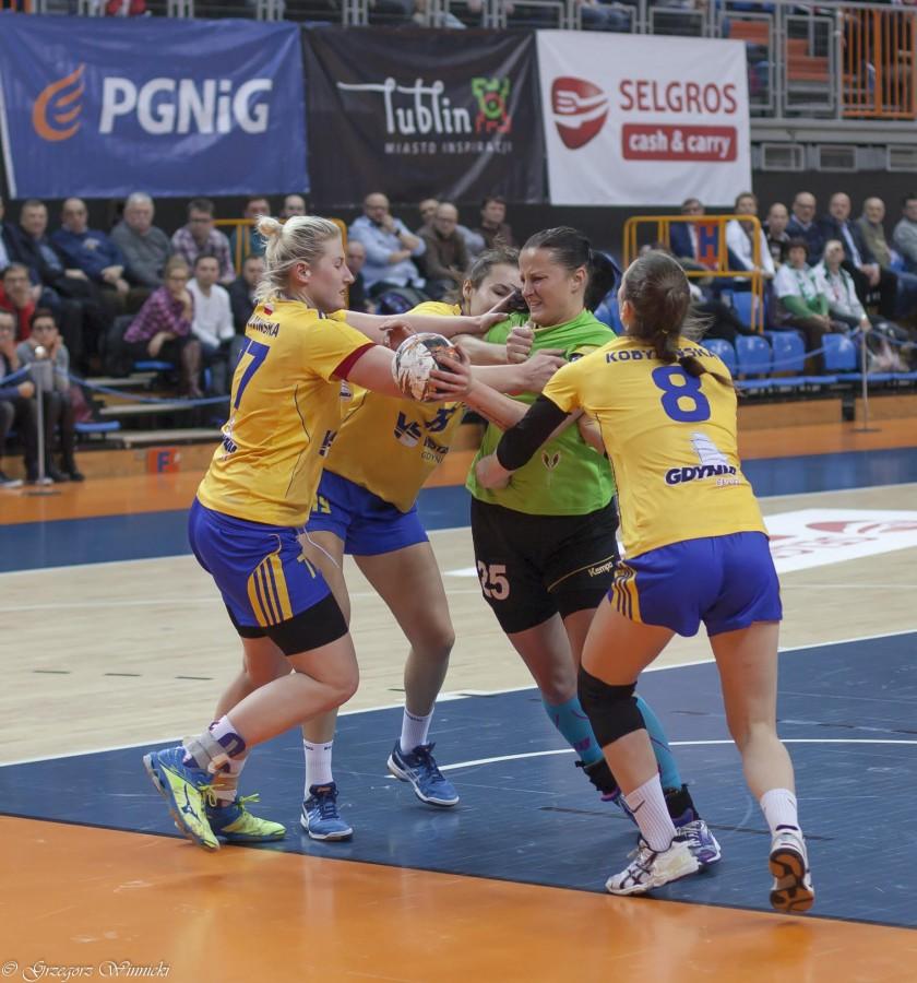 Osłabiony MKS Selgros Lublin wygrał z Vistalem Gdynia
