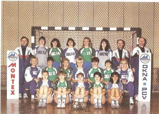 Ćwierćfinał Pucharu Miast 1995 r.: Ikast FS -Montex Lublin 19:17