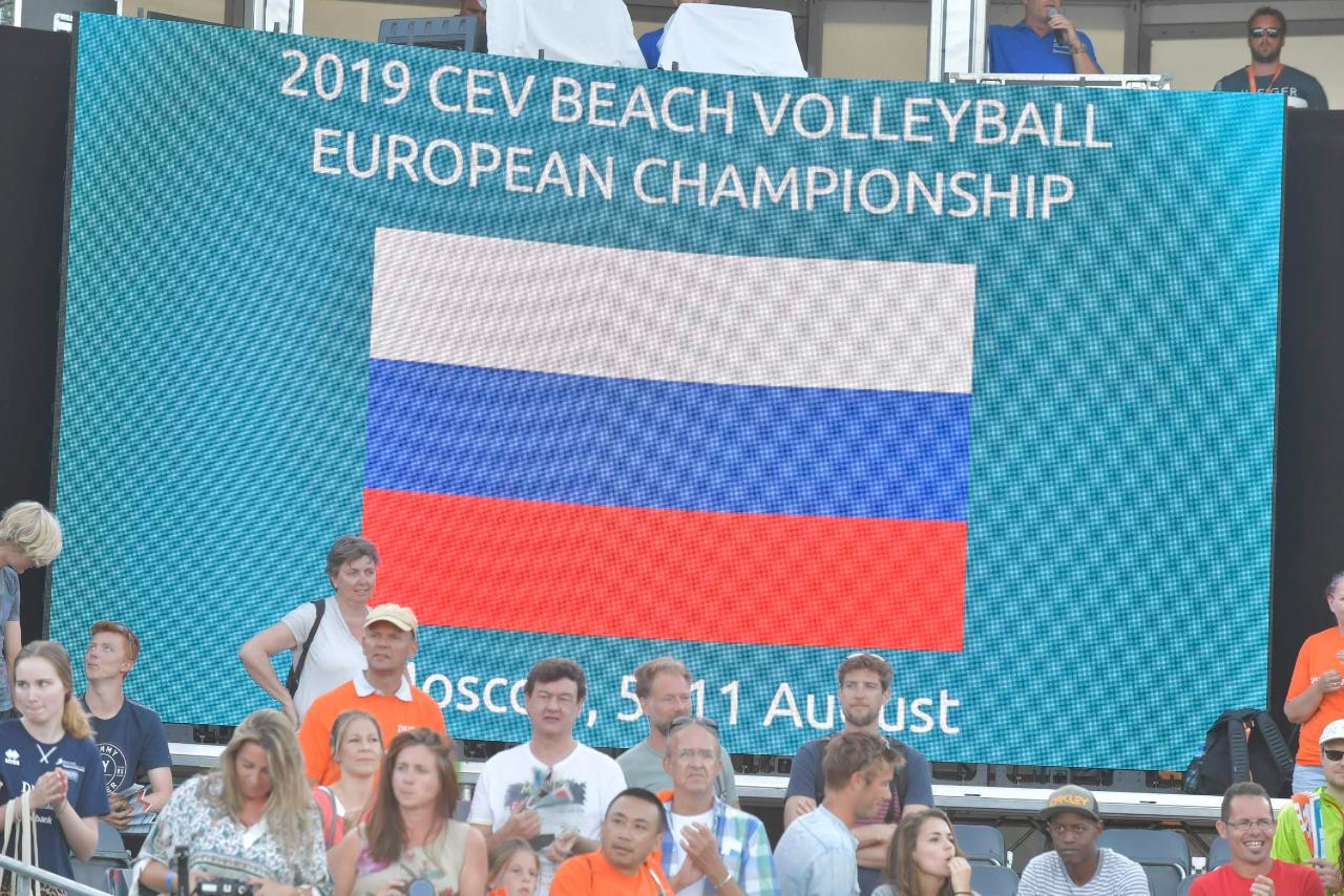 Srebro na Mistrzostwach Europy w siatkówce plażowej w Moskwie!