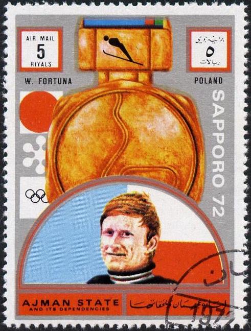 Z kart historii sportu: Złoty medal olimpijski Wojciecha Fortuny