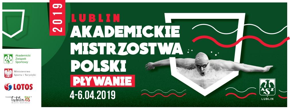 Za nami Akademickie Mistrzostwa Polski w pływaniu 2019