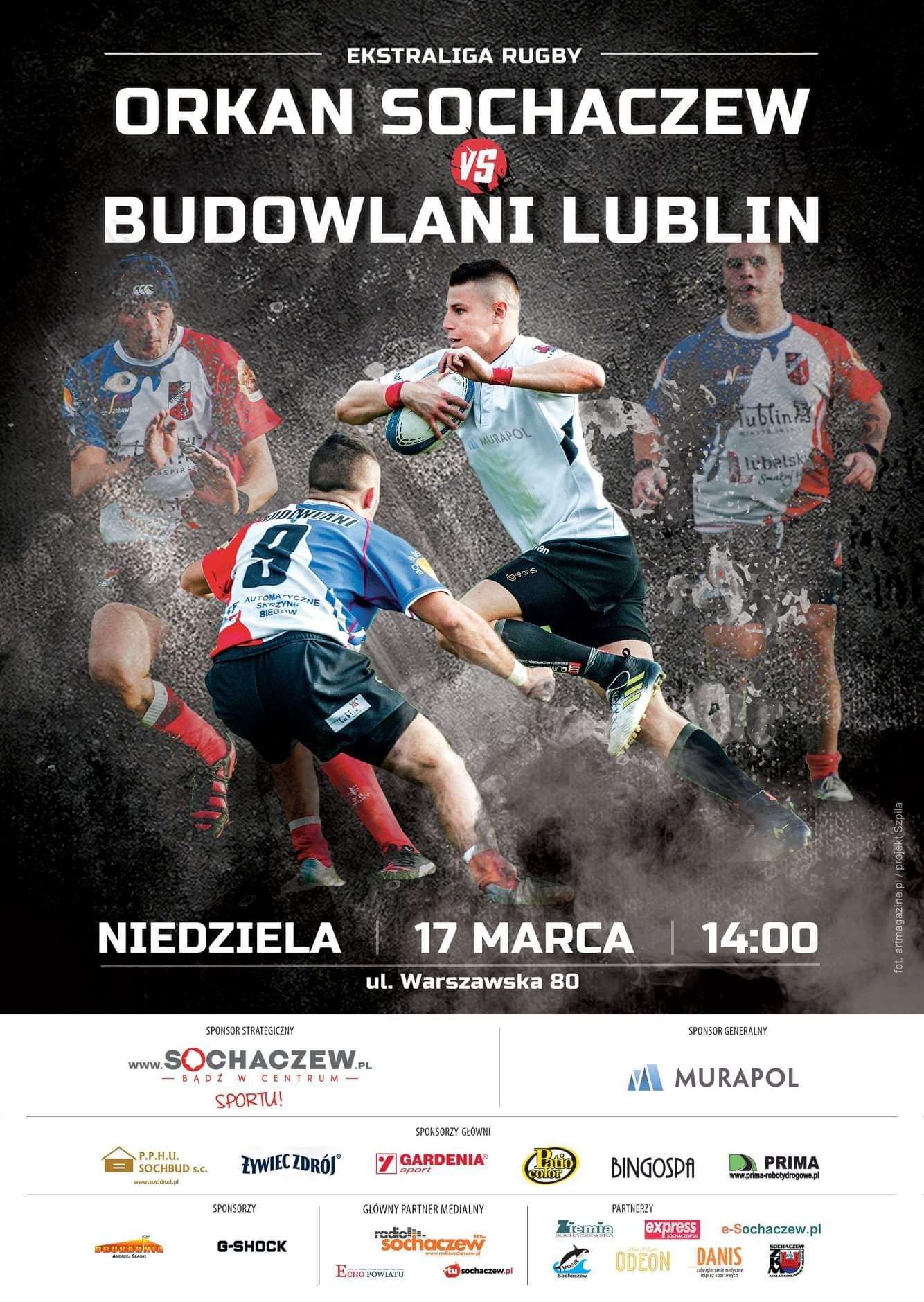 Zapowiedź: KS Budowlani Lublin - RC Orkan Sochaczew