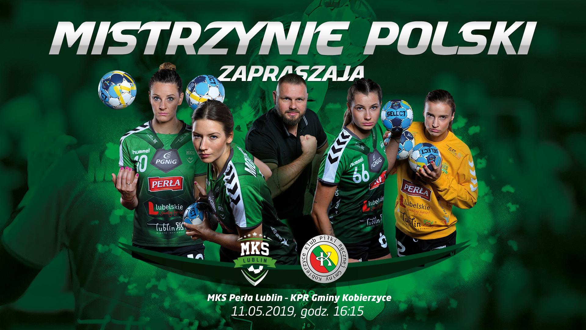 MKS Perła Lublin - KPR Gminy Kobierzyce 34:25