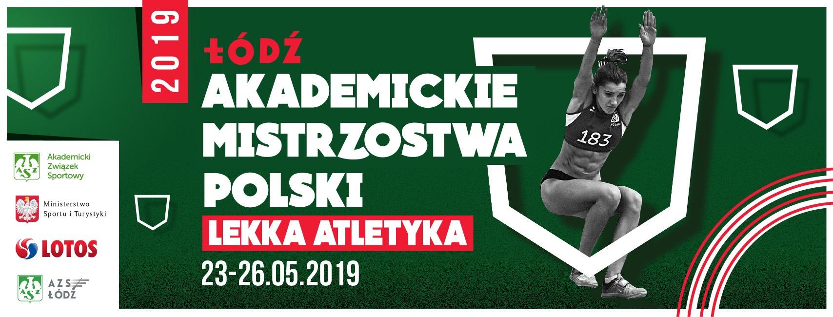Akademickie Mistrzostwa Polski połączone z Mistrzostwami Polski AZS w Lekkiej Atletyce.