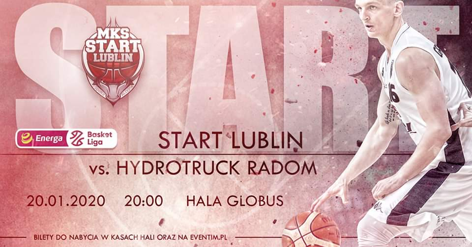 Start Lublin – HydroTruck Radom 94:78