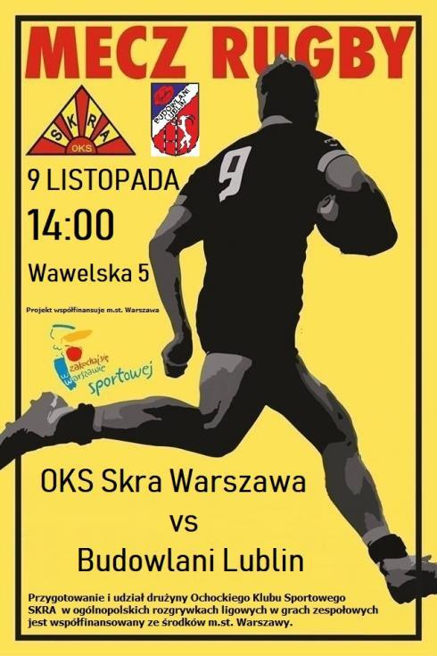 OKS Skra Warszawa - KS Budowlani Lublin 57:10 (24:10)