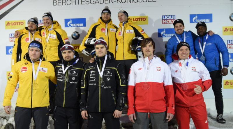 Mateusz Luty i Krzysztof Tylkowski zajęli 6 miejsce na Mistrzostwach Europy seniorów bobslejach