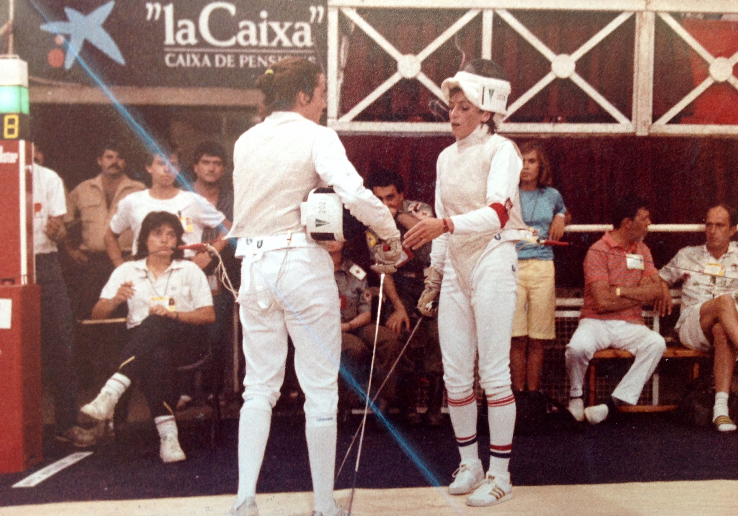 Mistrzostwo Polski Juniorów w szermierce 1978 r. dla Małgorzaty Nogal
