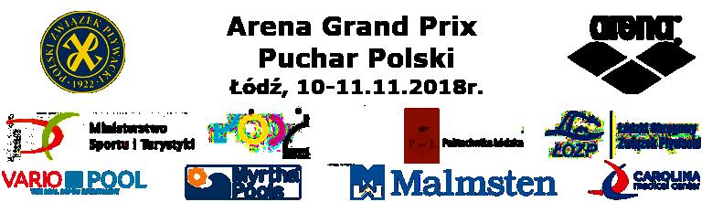Pływacy AZS UMCS podczas Arena Grand Prix Pucharu Polski Łódź