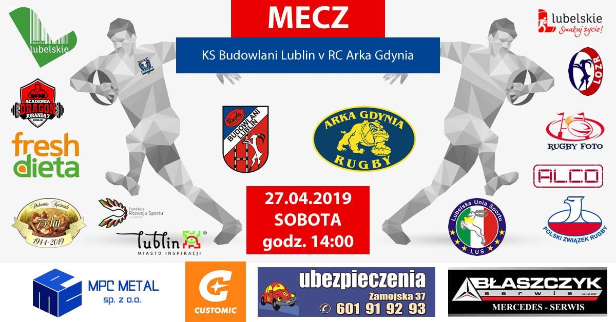 Budowlani Lublin – Arka Gdynia 73:7 (40:0)
