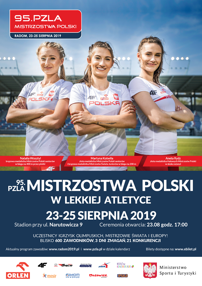 Zapowiedź: 95. Lekkoatletyczne Mistrzostwa Polski