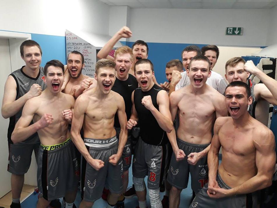 Młodzi koszykarze Start Lublin w ćwierćfinałowym turnieju mistrzostw Polski U20 w Bydgoszczy