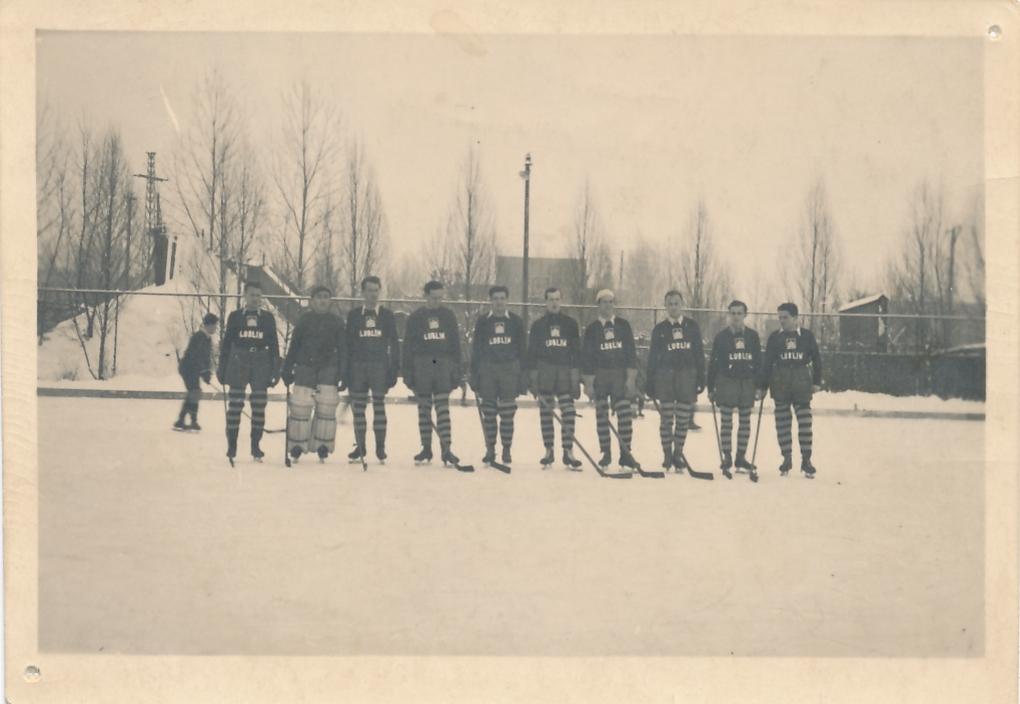 Hokejowe Akademickie Mistrzostwo Polski 1948 r. dla AZS Lublin