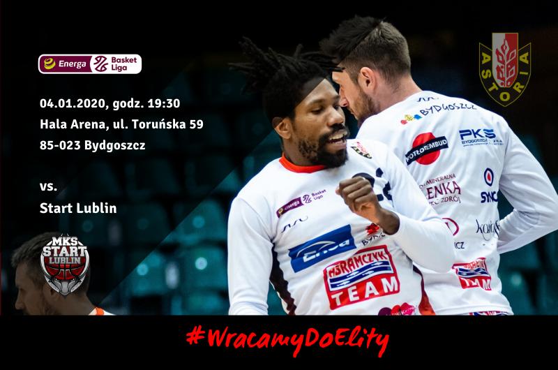 Enea Astoria Bydgoszcz - Start Lublin 75:104