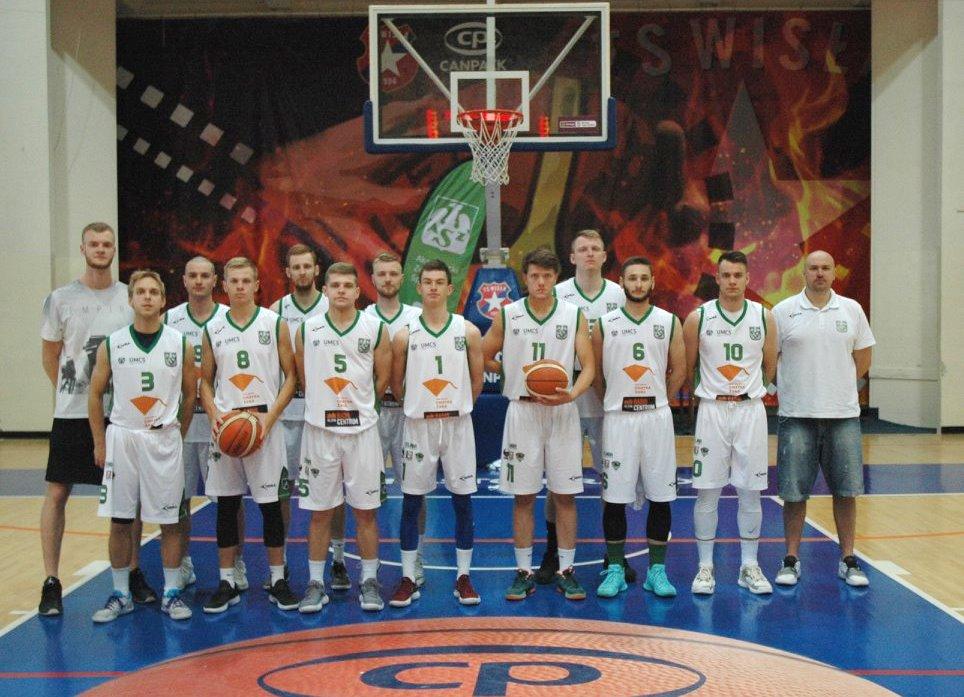 Koszykarze UMCS Lublin zwyciężają w Akademickich Mistrzostwach Polski