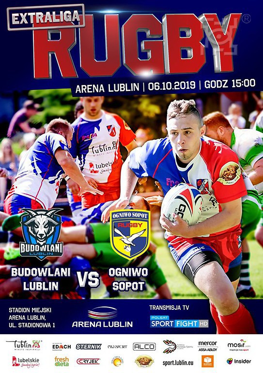 Ekstraliga rugby na Arenie Lublin!