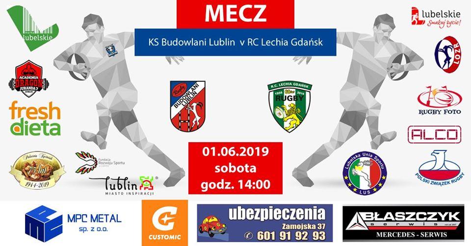 KS Budowlani Lublin v RC Lechia Gdańsk 33:13 (21:8)
