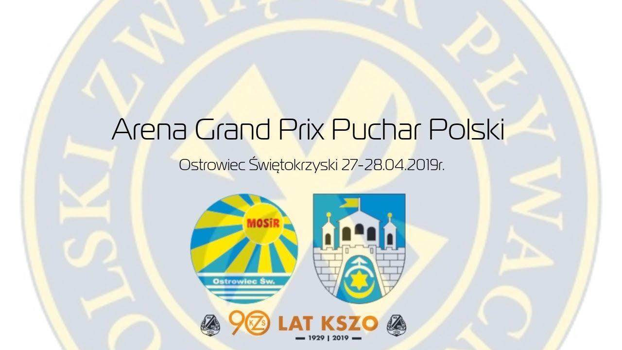 Pływanie: Arena Grand Prix Pucharu Polski Ostrowiec 2019