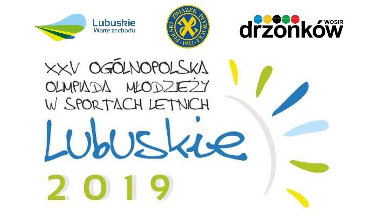 Dobry występ pływaków podczas XXV Ogólnopolskiej Olimpiady Młodzieży