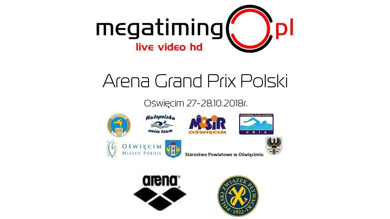 Pływanie: Arena Grand Prix Pucharu Polski w Oświęcimiu