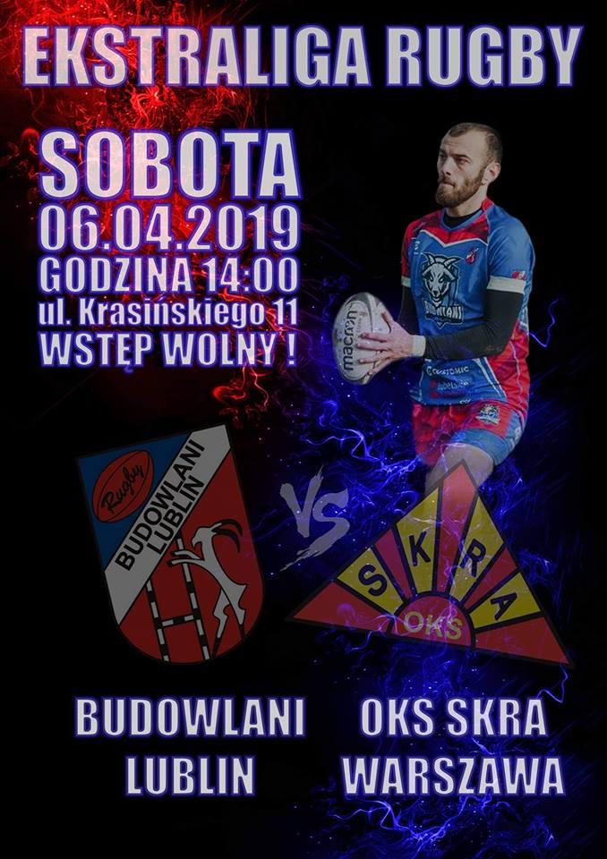 KS Budowlani Lublin – OKS Skra Warszawa 27:31 (15:12)