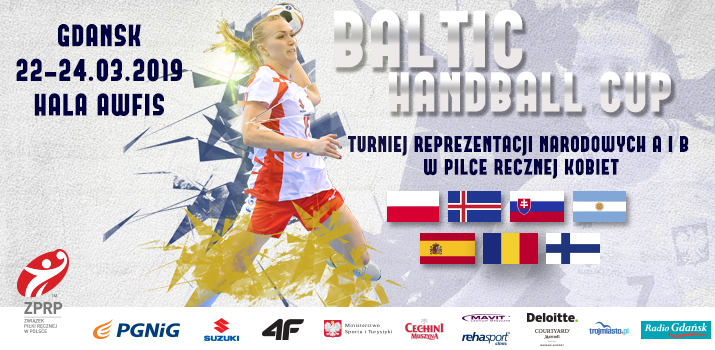 Pierwszy dzień turnieju Baltic Handball Cup 2019
