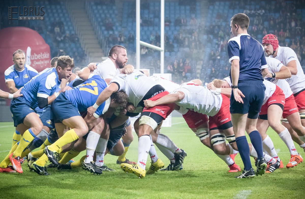 Rugby: Polska - Ukraina 22:0