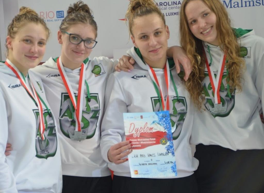 Historyczny sukces pływaków AZS UMCS - pierwsi w rankingach Ministerstwa