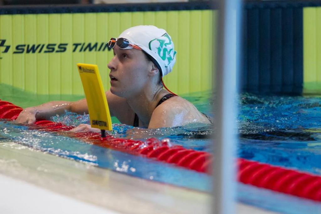 Zuzanna Chwadeczko świetnie spisuje się na pływackich Mistrzostwach II Dywizji NCAA
