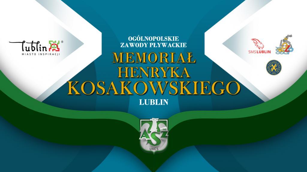Zapowiedź: Memoriał imienia Henryka Kosakowskiego