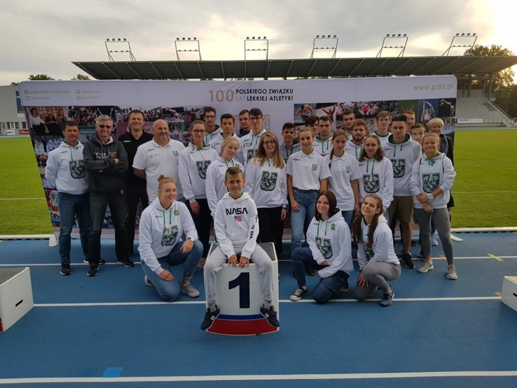 Lekkoatleci AZS UMCS Lublin wicemistrzami Polski U20